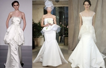 Peplum-Wedding-Dresses