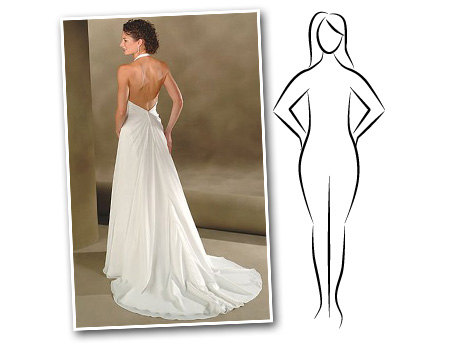 The Wedding Dress For The Apple Shaped Body Marie