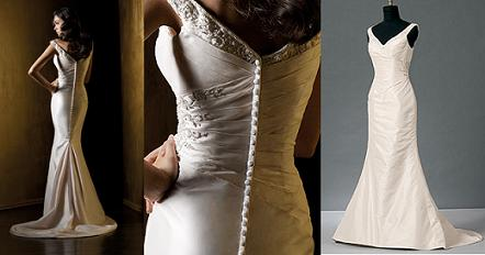 finding the best wedding dress for your hourglass shape marie