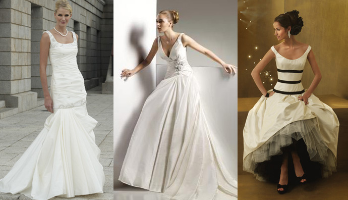 Finding the best Wedding Dress for your Hourglass shape | Marie ...