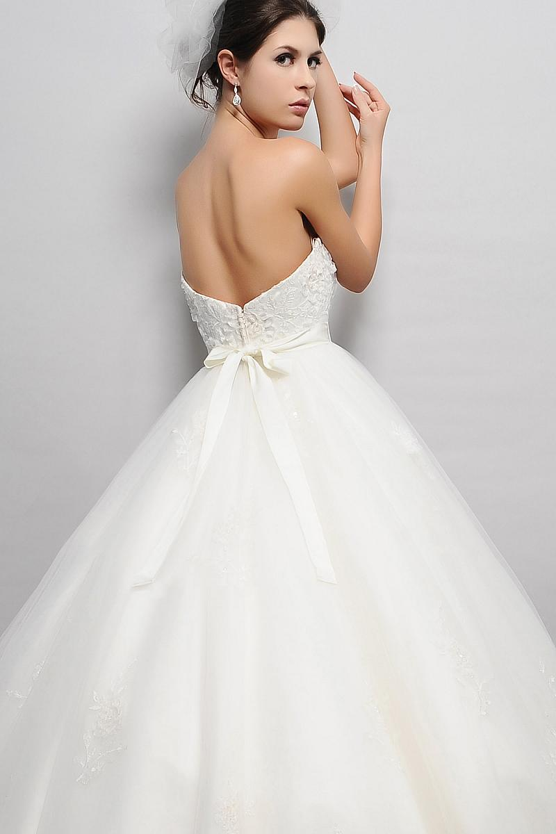 Pear Shaped Eden Bridal Wedding Gown BL033 Back | Marie Crawford\'s ...